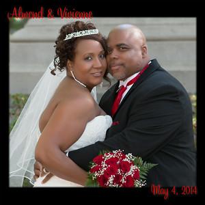 Almond & Vivienne Davis wedding 001 (Side 1)