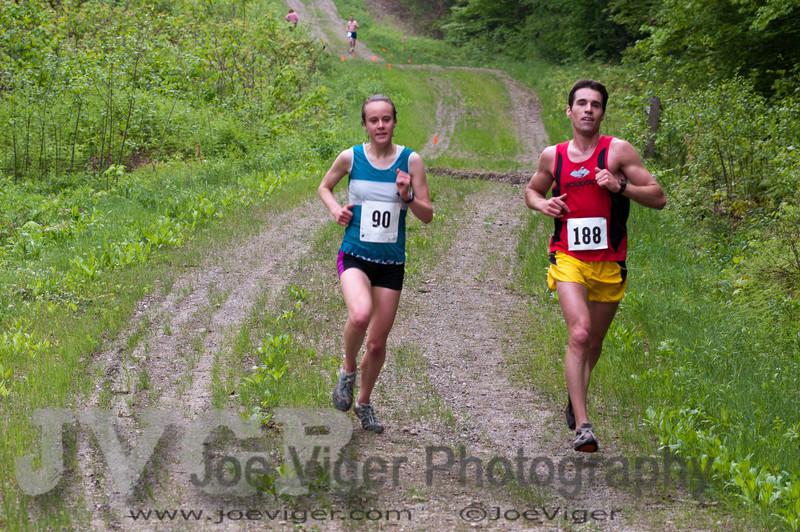 Carolyn Stocker, Women's Second Place finisher