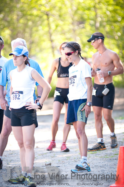 Morgan Arritola gets ready to toe the line. 2012 Loon Mountain Race-2690