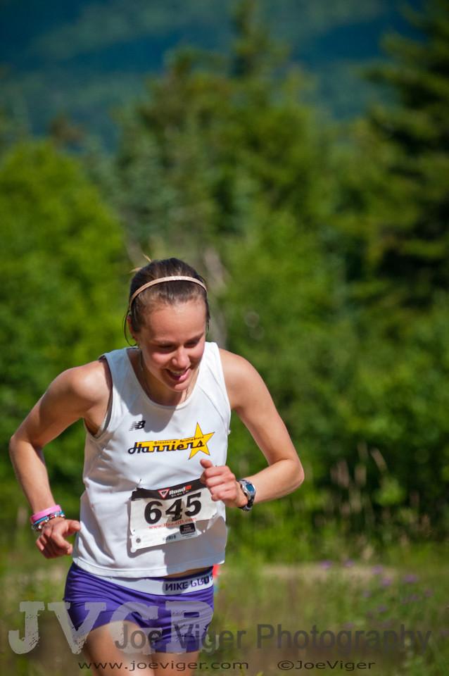 Carolyn Stocker, First Place Junior Women  2012 Loon Mountain Race-2794