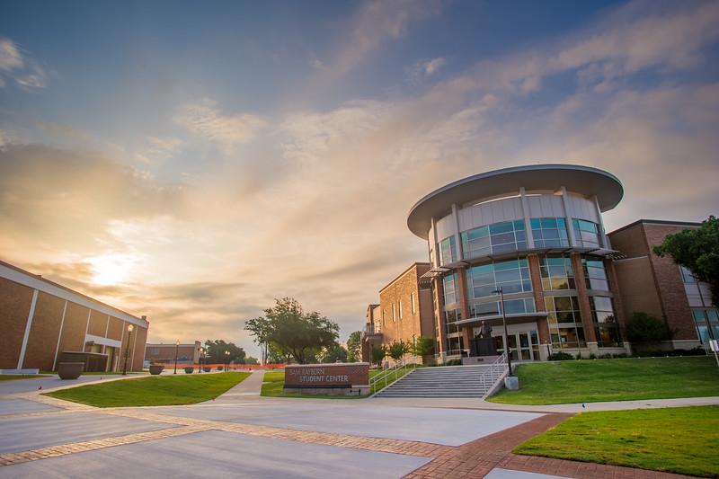 10000-Rayburn Student Center Sunrise-
