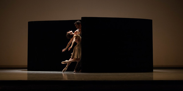 Ballet West's Arolyn Williams & Rex Tilton in LYRIC PIECES by Jessica Lang