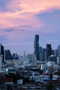 Bangkok view from ICONSIAM