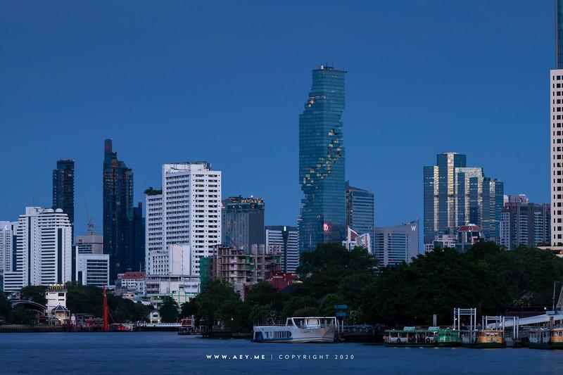 Mahanakhon and the Skyline of Bangkok