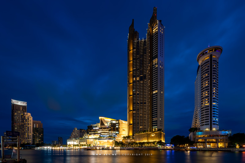 ICONSIAM and Millennium Hilton Bangkok