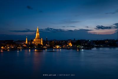 Wat Arun view from Sala Arun