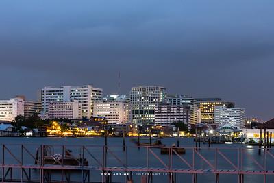 Siriraj Hospital by Chao Phraya River