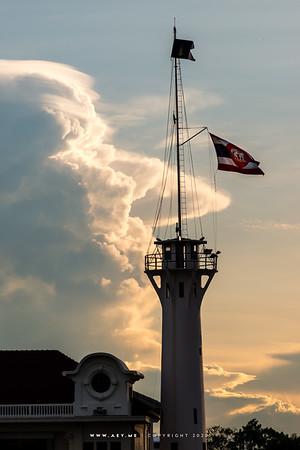 An evening at the Royal Thai Navy