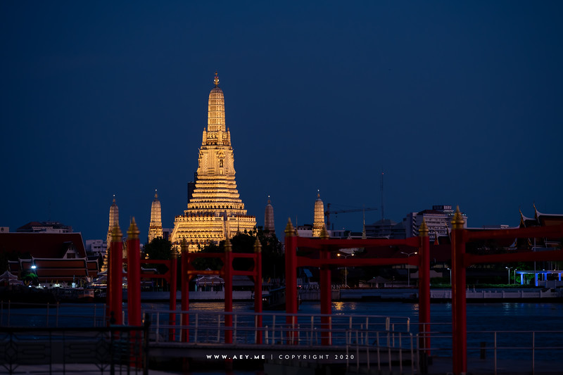 Wat Arun and Chao Phraya River