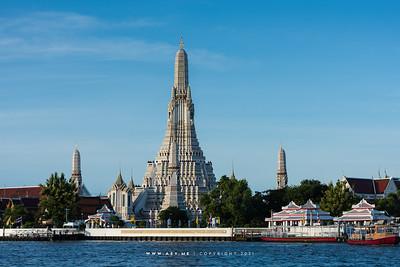 Wat Arun and Chao Phraya Rive
