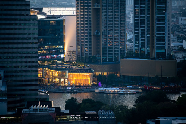 ICONSIAM view from Yao Rooftop Bar