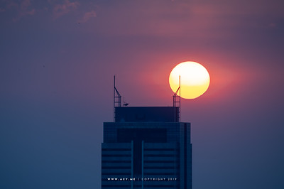 Sun, Colud & Sky over Bangkok