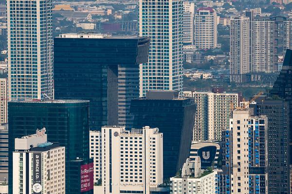 G Tower view from Baiyoke Sky Hotel