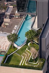The Room Phayathai view from Baiyoke Sky Hotel