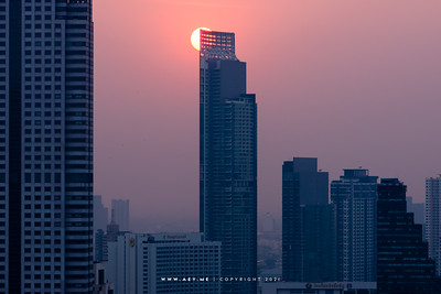 The River Condominium view from Bangkok Bank Head Office Building