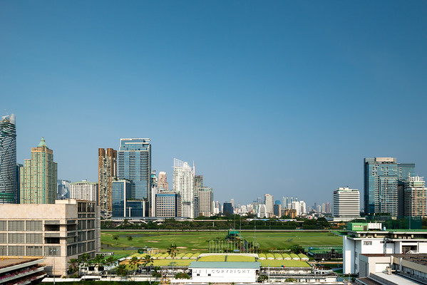 Skyline of Ratchasamri, Bangkok