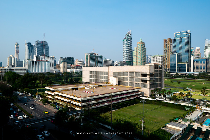 Skyline of Ratchasamri, Bangkok