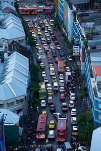 Bangkok view from the Grand China Hotel Bangkok