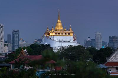 Bangkok view from Printing House Poshtel