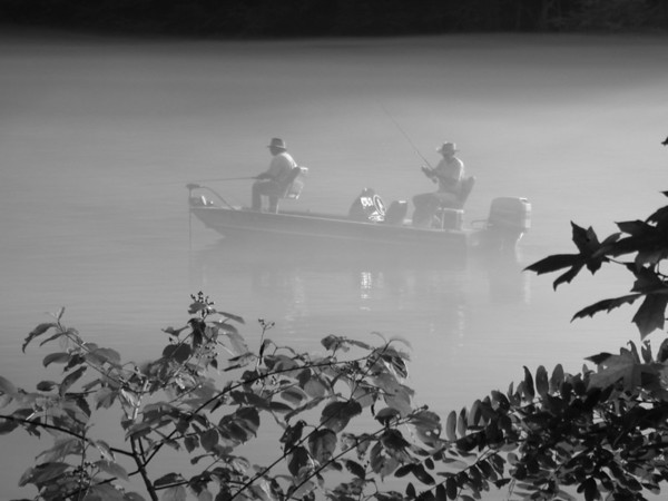 Foggy Fishermen - North Carolina
