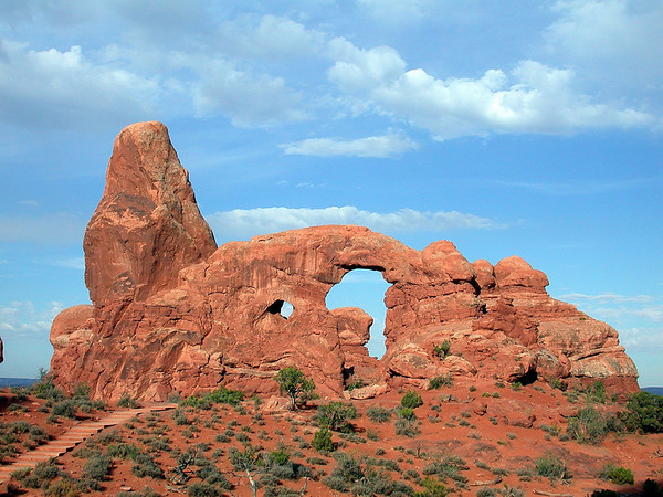 Turret Rock - Arches National Park, Utah