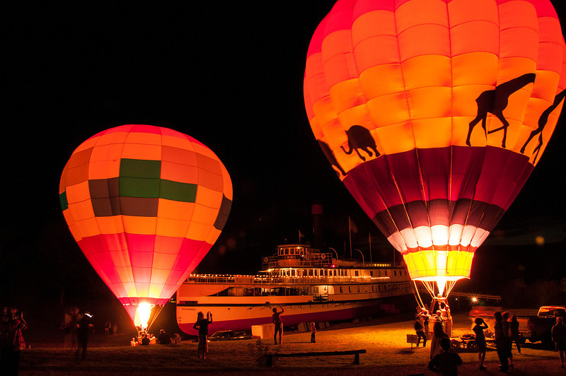 Balloon Glow at the Ti