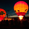 Watching the Balloons Glow