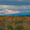 Autumn Snow on the Mountain