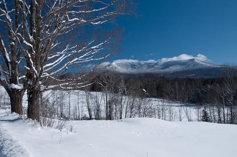 Fresh Snow to the Mountains