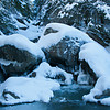 Winter at Brewster River Gorge_