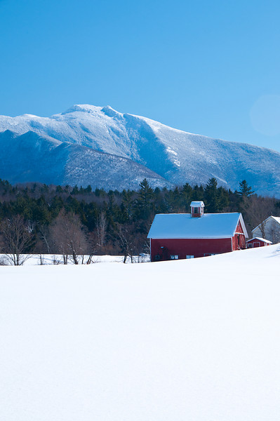 Lower Pleasant Valley Farm in Winter 2