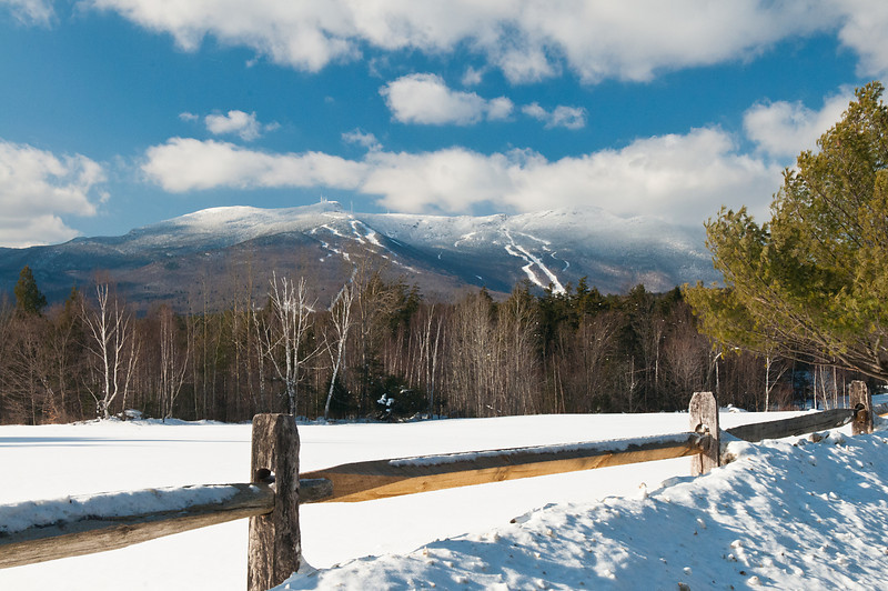 Mount Mansfield from Edson Hill