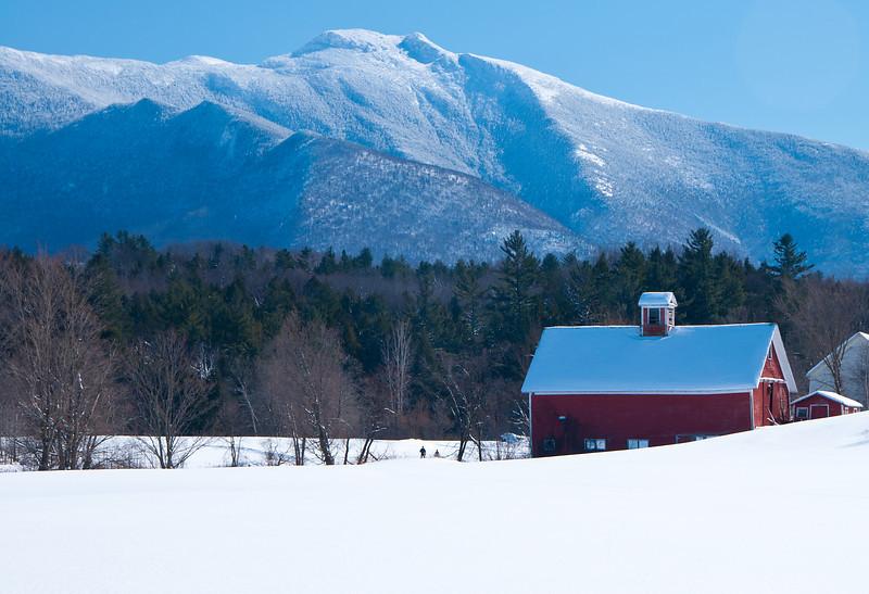 Lower Pleasant Valley Farm in Winter_