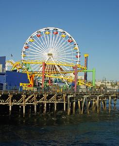 Santa Monica Pier Vertical