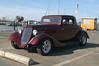 32 Ford Coupe street rod by a local builder, unkown.  The owner and I chatted about cars, motorcycles and skipjacks.  He also builds skipjack models and was surprised that I knew of Bronza Parks.