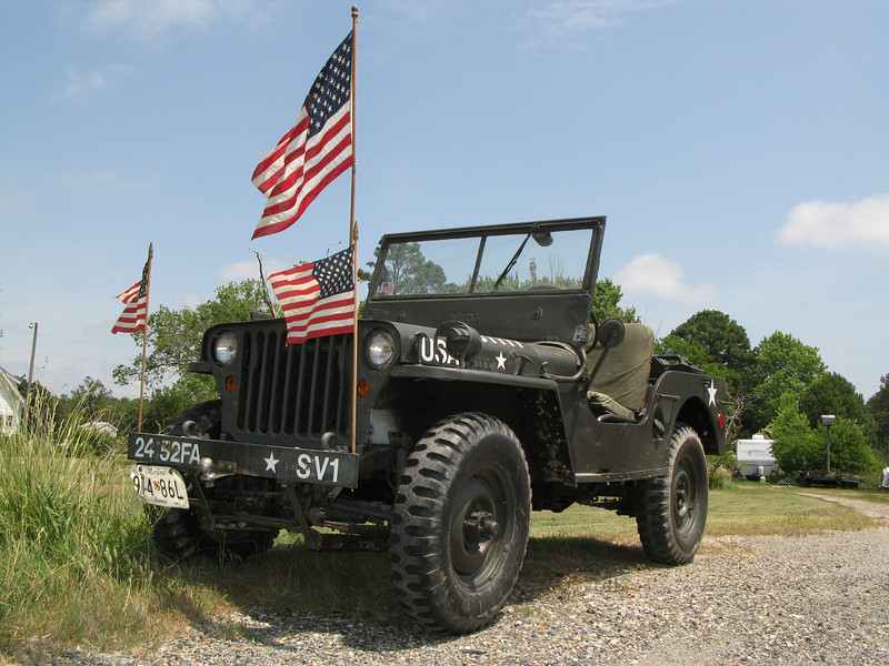 The Original !  a 1948 Willys Overland Co.  General Purpose Utility Vehicle.