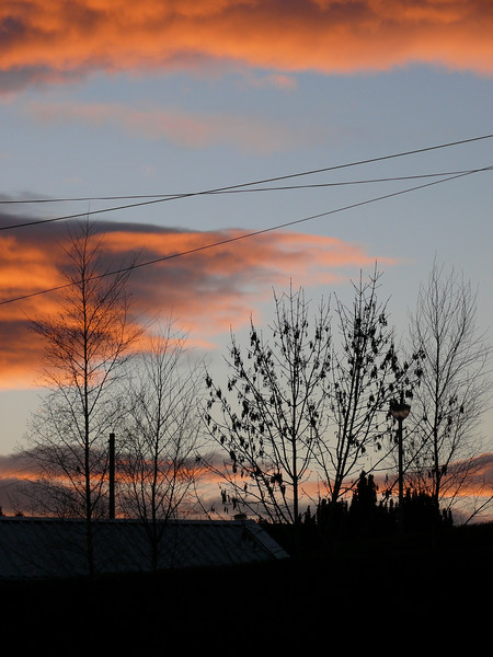 Sunset.<br /> 6th February 2009