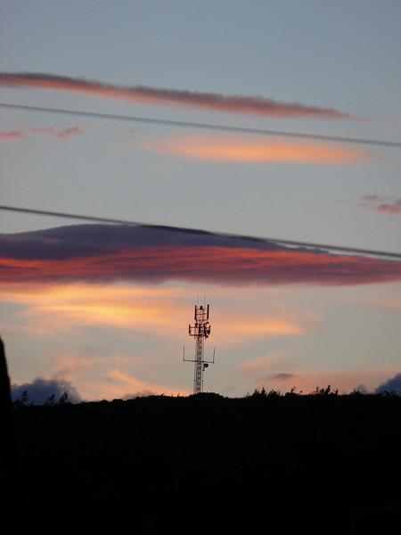 Sunset.<br /> 11th June 2008