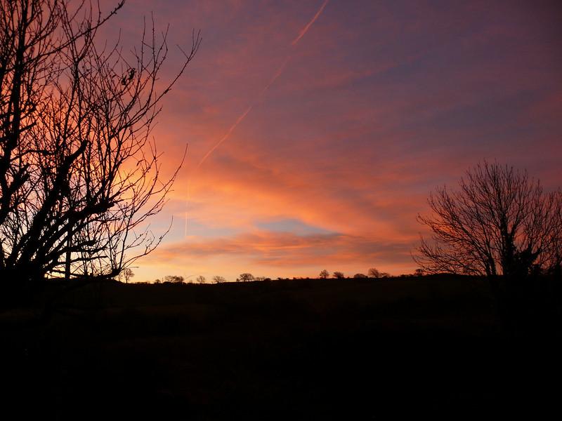 Morning sky.<br /> 18th November 2008