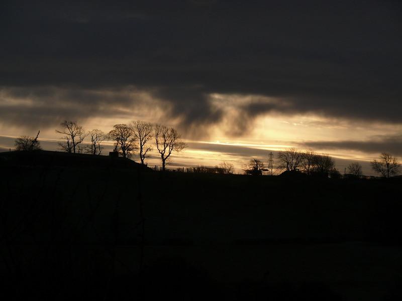 Sunset.<br /> 19th December 2009.