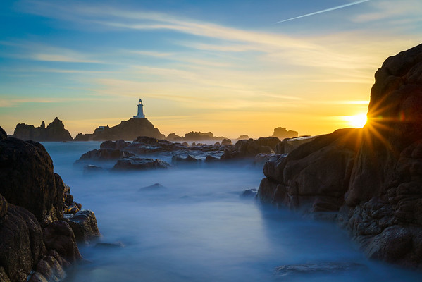 Le Corbiere Lighthouse, Jersey