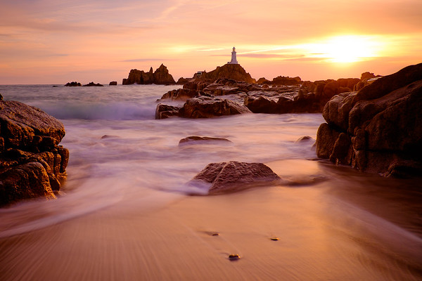 La Corbiere Lighthouse, Jersey