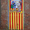 Punch and Judy wall painting
