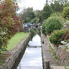 Along the Bradford and Avon Canal - Dundass Wharf with narrow Coal Canal leading off