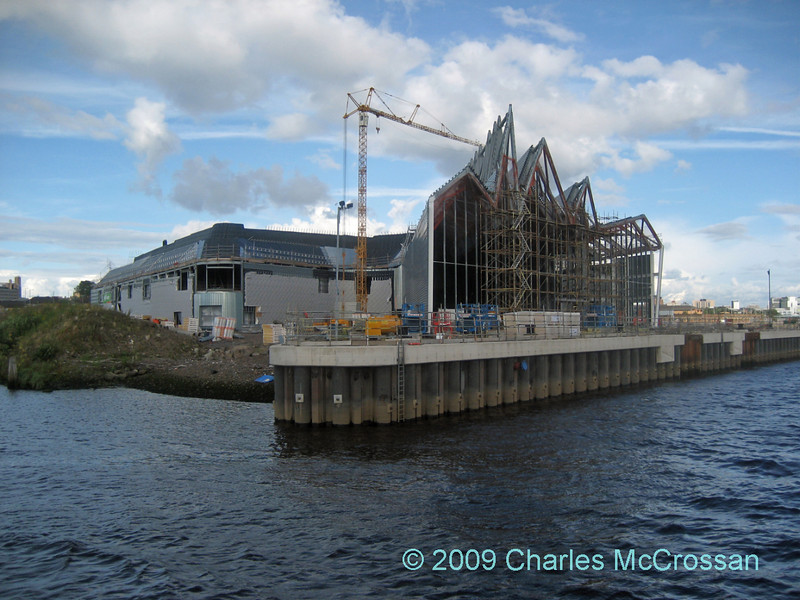 Construction moves on at the new Transport Museum