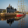 Reflections on the Clyde at Riverside Museum
