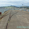 Rail tracks on Fairlie pier