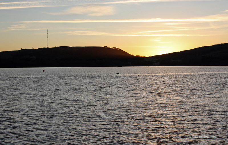 Sunset over Roseneath peninsula