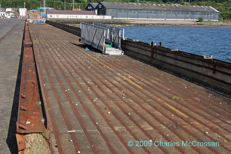 Side part of Failie Pier
