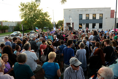 Kingston vigil for Charlotesville
